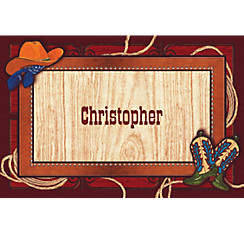 Giddy Up Cowboy Custom Thank You Note