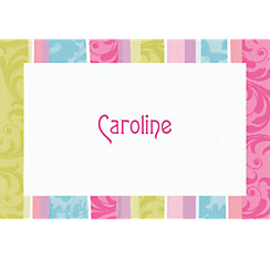 Spring Fashion Custom Thank You Note