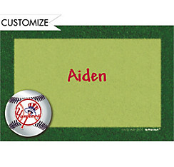 New York Yankees Custom Thank You Note