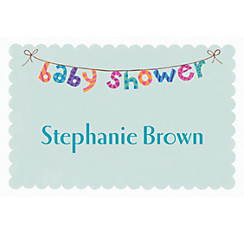 Baby Shower Banner Custom Baby Shower Thank You Note