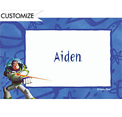 Buzz Lightyear Border Custom Thank You Note
