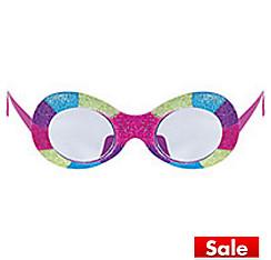 Tricolor Glitter Glasses