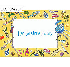 Fancy Barbecue Custom Thank You Note