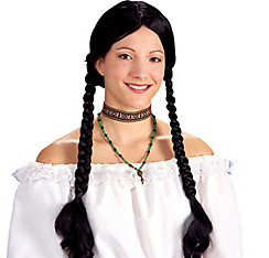 Long Black Braids Wig