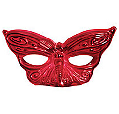 Red Butterfly Masquerade Mask