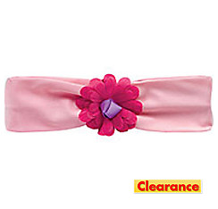 Pink Tulle Flower Headband