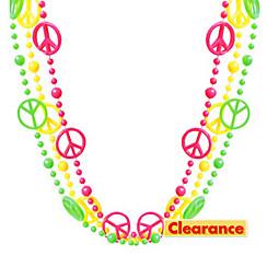 Neon Peace Necklaces 3ct