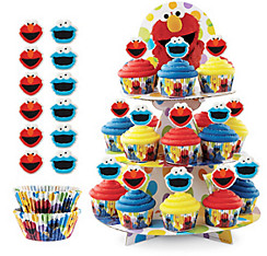 Elmo Cupcake Kit For 24