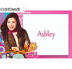 iCarly Custom Thank You Notes