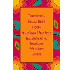 Fiesta Caliente Custom Invitation