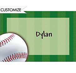 Custom Baseball Fun Thank You Notes
