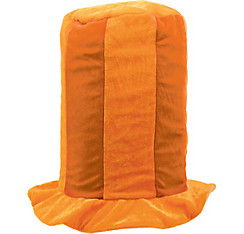Orange Tall Top Hat