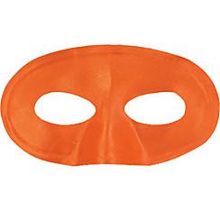 Orange Fabric Eye Mask