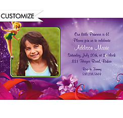 Magical Tink Custom Photo Invitation