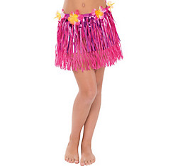 Child Grass & Tinsel Hula Skirt