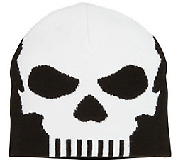 Black Knit Skull Cap