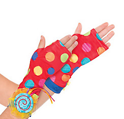 Child Lollipop Fairy Arm Warmers