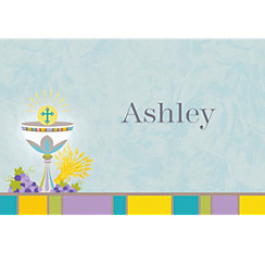 Joyous Communion Custom Thank You Note