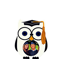 Owl Graduation Photo Frame