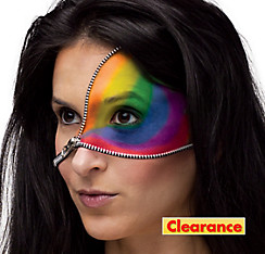 Rainbow Zipper Makeup Kit