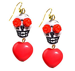 Day of the Dead Skull Earrings
