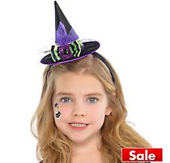 Flutter Fairy Witch Hat Headband