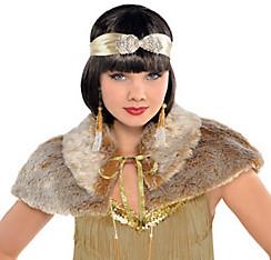 Roaring '20s Furry Capelet
