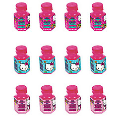 Rainbow Hello Kitty Mini Bubbles 12ct