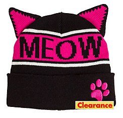 Meow Cat Ear Beanie
