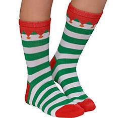 Child Elf Crew Socks