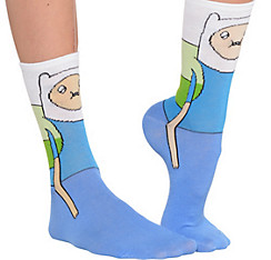 Finn Crew Socks - Adventure Time