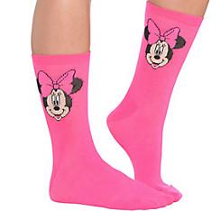Minnie Mouse Crew Socks