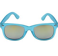 Caribbean Blue Mirrored Sunglasses