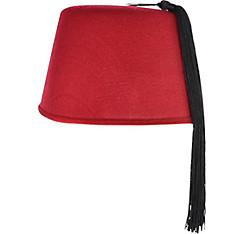 Burgundy Fez Hat