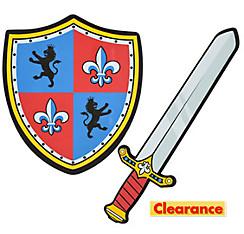 Child Knight Shield & Sword