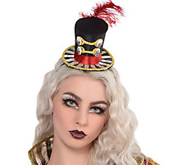 Freak Show Ringmaster Top Hat Headband