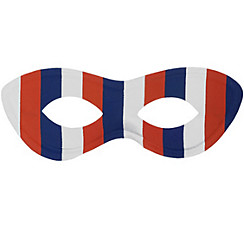 Red, White & Blue Domino Mask