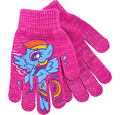 Child Rainbow Dash Gloves - My Little Pony