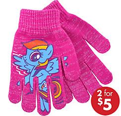 Child Rainbow Dash Gloves - My Little Pony