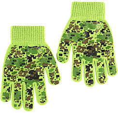 Child Digital Camo Gloves