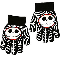 Child Jack Skellington Gloves - The Nightmare Before Christmas
