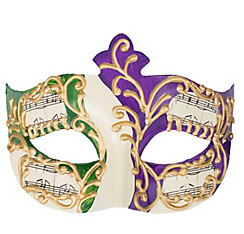 Music Note Mardi Gras Masquerade Mask