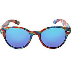 Tie-Dye Mirrored Sunglasses