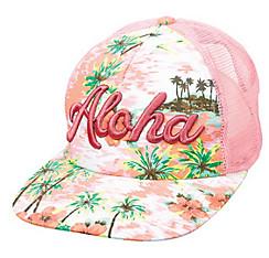 Pink Aloha Trucker Hat