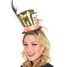 Mad Hatter Top Hat Headband