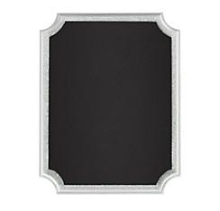 Glitter Silver Border Chalkboard Easel Sign