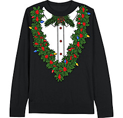 Holiday Flower Christmas Sweater