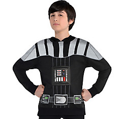 Child Darth Vader Hoodie - Star Wars