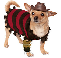 Freddy Krueger Dog Costume - A Nightmare on Elm Street