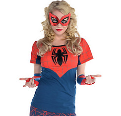 Spidergirl Fitted T-Shirt